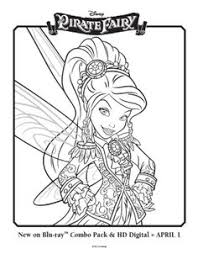 disney fairy coloring pages free tinker bell and the pirate fairy coloring pages picture 2