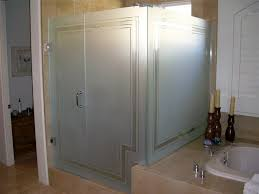 Etched Shower Doors Frosted Glass Shower Panels For Privacy Or Decoration In Your