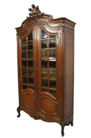 Provincial Bookcase Beautiful Antique French Provincial Dining Room Cabinet Wonderful