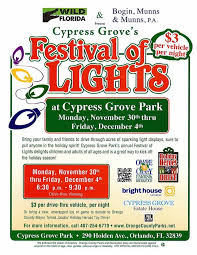 festival of lights orange county orlando festival of lights my central florida family