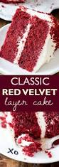 red velvet layer cake with cream cheese frosting sallys baking