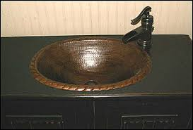 Copper Faucets Bathroom What Faucet Goes With A Copper Sink Nomadic Decorator