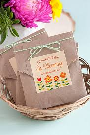 seed packet favors 3 easy baby shower favor ideas gift favor ideas from evermine