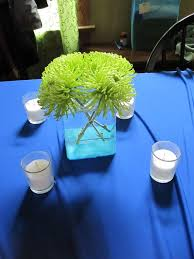 Blue Wedding Centerpieces by 140 Best Wedding Lime Green U0026 Royal Blue Images On Pinterest
