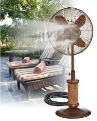 Diy Patio Mister by 10 Best Misting Fans For Ultimate Cooling