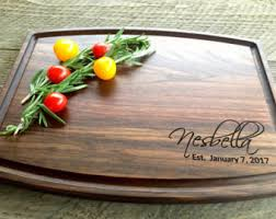 engraved platter wedding gift personalized cutting board wedding gift engagement gifts