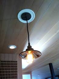 how to convert a pendant light to a recessed light convert square recessed light to pendant brandsshop club
