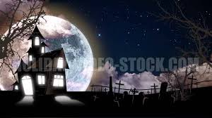 halloween animation haunted house and graveyard animation youtube