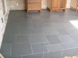 simple photo of kitchen floor tile brick pattern in german
