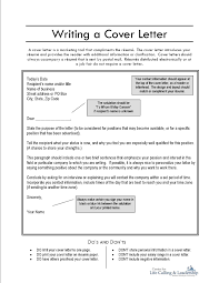 creating a cover letter for your resume letter idea 2018