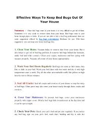 Why Do Bed Bugs Come Out At Night Effective Way To Keep Bed Bugs Out From House