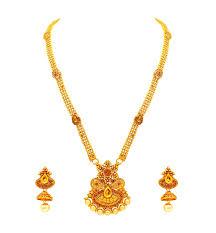 style gold necklace images Atasi international traditional temple style gold necklace set for jpg