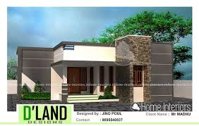 home design 900 square square feet single floor 2 bhk contemporary home design