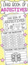 little book of adjectives a5 printable worksheet booklet