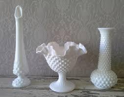 Milk Glass Vase 64 Best Hobnail Milk Glass Hobnob Images On Pinterest Vintage