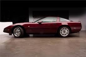 1993 corvette 40th anniversary 1993 40th anniversary coupe raises 125k for charity at barrett
