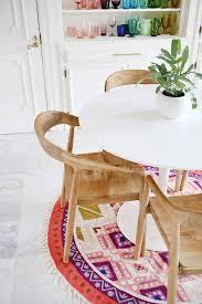 Round Rug Dining Room by Best 25 Round Rugs Ideas On Pinterest Carpet Design Designer