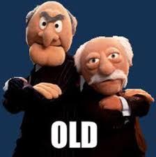 Waldorf And Statler Meme - macro muppet old statler suit waldorf