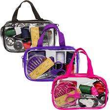 bulk travel sewing kits with carrying cases at dollartree