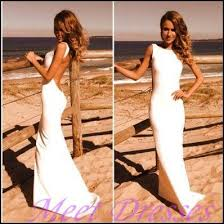 simple open back wedding dresses simple high neck white wedding dresses satin summer white