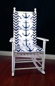 cover for rocking chair rocking chair cushion cover navy anchor