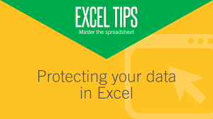 protecting your data in excel aat comment