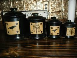primitive kitchen canister sets primitive kitchen canister sets primitive tin metal