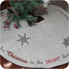 burlap tree skirt tree skirt