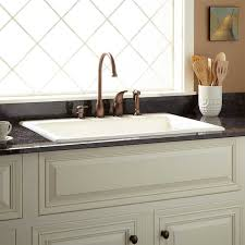 drop in farmhouse kitchen sink inspirations with stunning drop in farmhouse kitchen sinks images