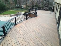 Vinyl Decking For Boats by Decks Com Composite Decking Material Review