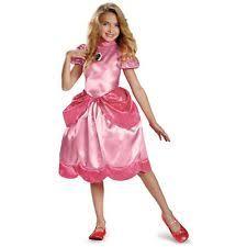 Halloween Costumes Ebay Princess Peach Costume Ebay