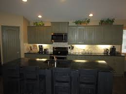 Painting Kitchen Cabinets Gray Painting Kitchen Cabinets With Chalk Paint Decorative Furniture