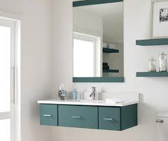 Grey Blue Cabinets Contemporary Bathroom With Blue Cabinets By Decora Cabinetry Blue