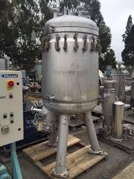 120 sq ft 120 sq ft schenk zhf r15 316 ss pressure leaf filter 12370 new