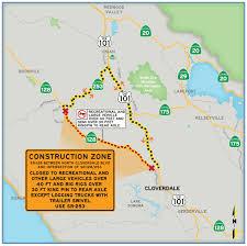 Sonoma California Map Caltrans District 4 128 Oak Valley Road