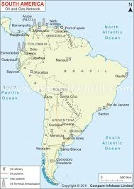 south america map aruba south america and gas network