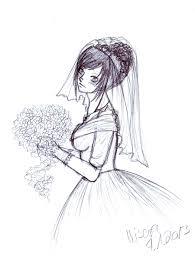 candy bride sketch by chibikisarachan on deviantart