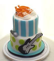 rock star baby shower cake cakecentral com