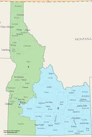 Map Of Boise Idaho Idaho U0027s Congressional Districts Wikipedia