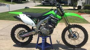 like new kx450f dirt bike motorcycles for sale