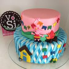 124 best peppa images on pinterest peppa pig cakes pigs and