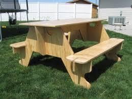 knock down picnic table plans plywood picnic table design plane hand tool plans for nursery