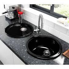 Inset Sinks Kitchen by Black Round Kitchen Sink Befon For