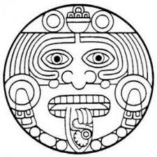 quality aztec sun tattoo design