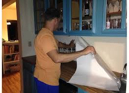 13 incredible kitchen backsplash ideas that aren u0027t tile kitchen