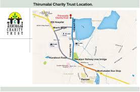 Rit Campus Map Thirumalai Charity Trust Charitable Trust In India Healthcare