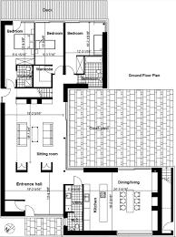 modern style house plan 4 beds 3 50 baths 2845 sq ft plan 520 2