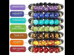 stones bracelet images 7 chakra healing bracelet with real stones jpg