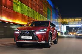 lexus suv nx or rx lexus super bowl ad gets to point nx plugs product hole