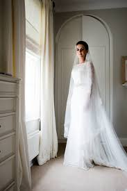 bespoke wedding dresses mischevani bespoke wedding gown lace fitted fishtail